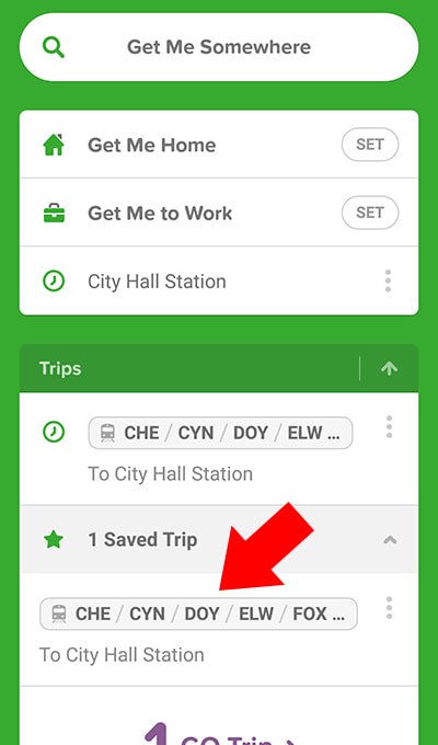 Citymapper Offline Step 2