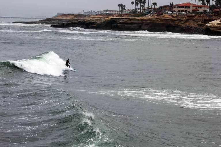 Surfer in San Diego