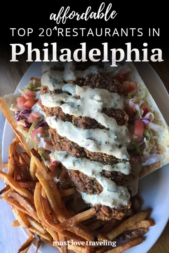 Top 20 Restaurants in Philadelphia