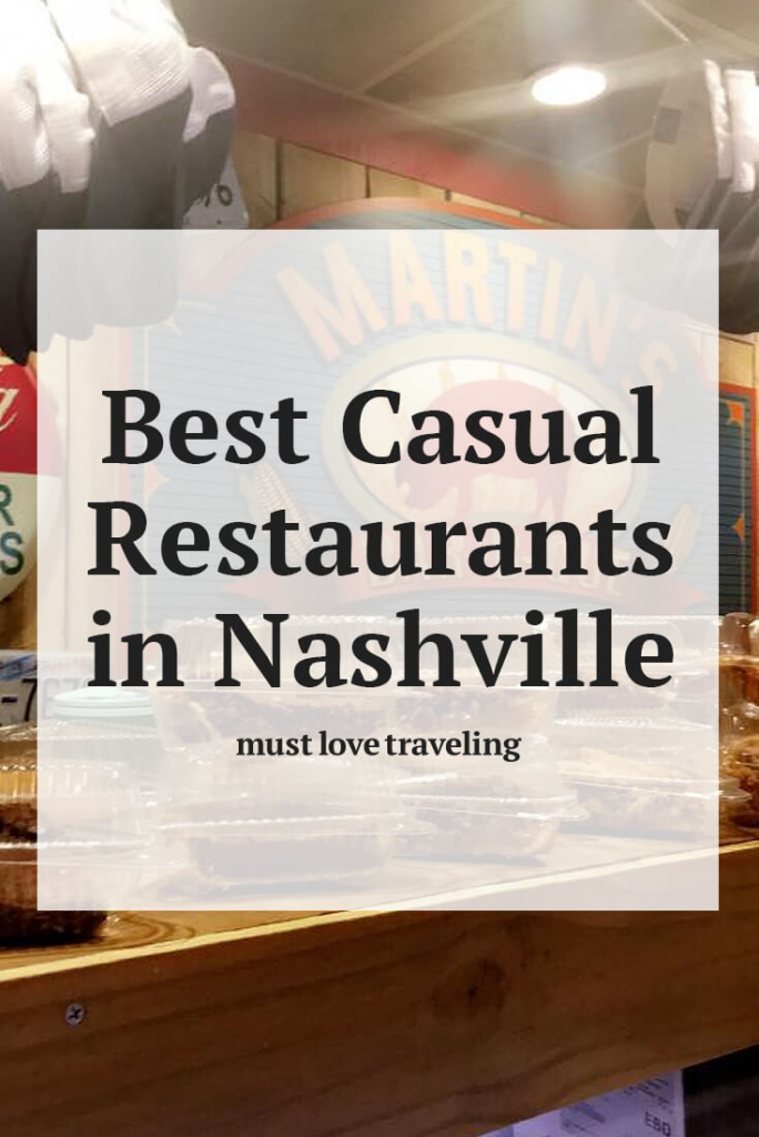 best casual restaurants in Nashville
