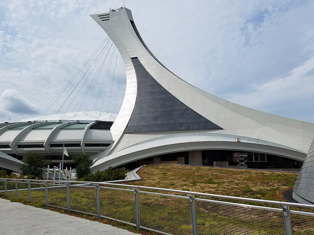 Olympic Park in Montreal
