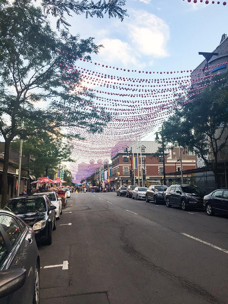 Rue Saint Catherine Montreal