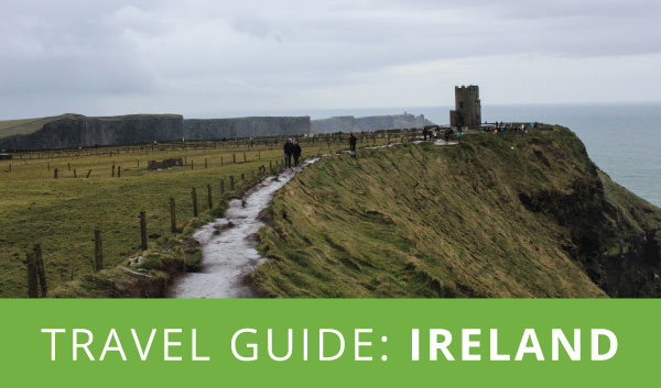 travel guide: Ireland (infographic)