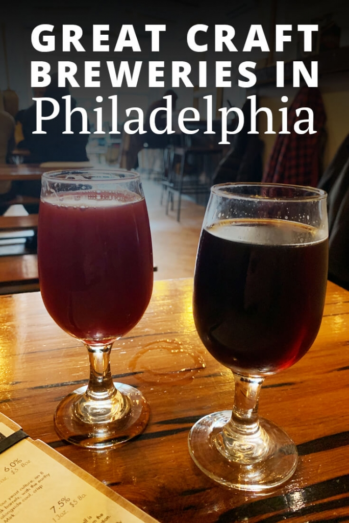 Great Craft Breweries in Philadelphia