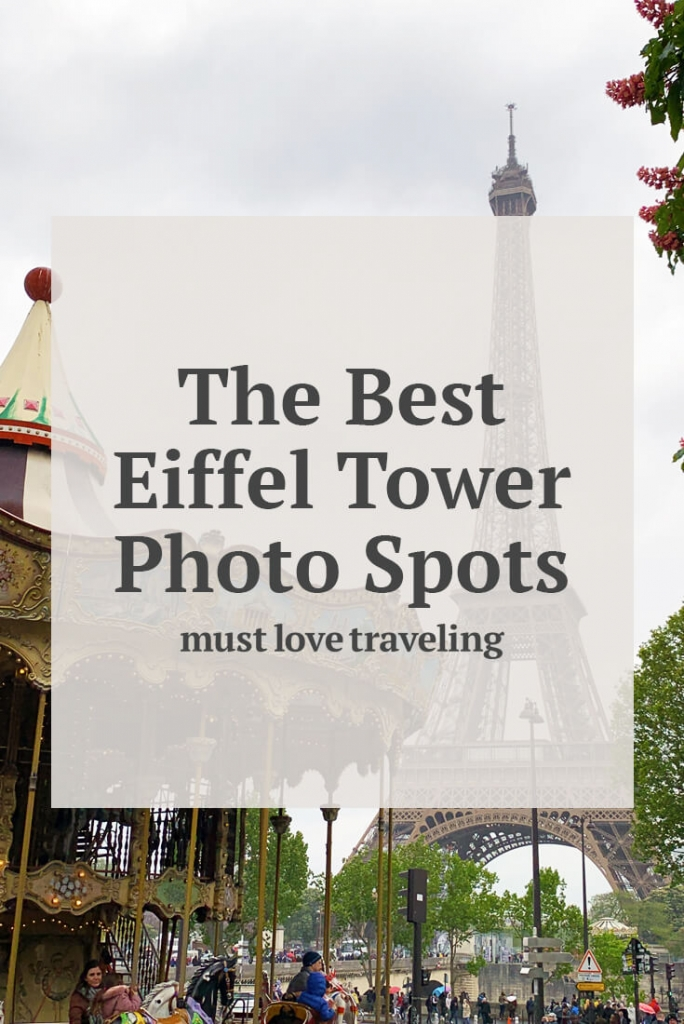 The best Eiffel Tower Photo spots