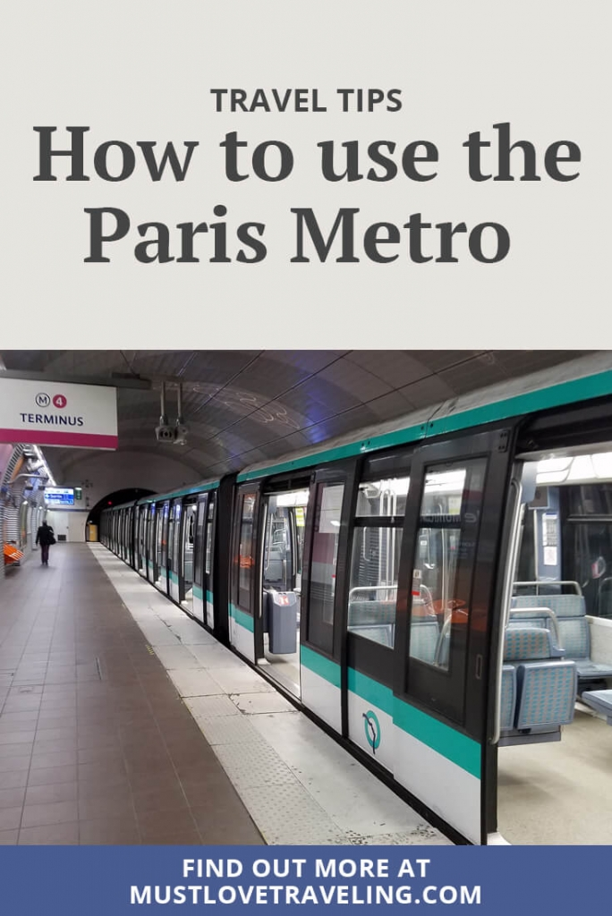 How to use the Paris Metro