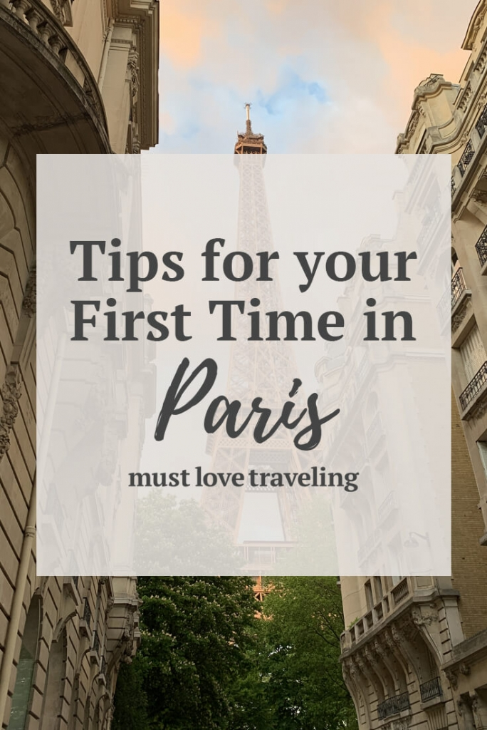 Tips for your first time in Paris