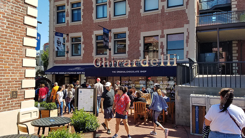 Ghirardelli Square in San Francisco