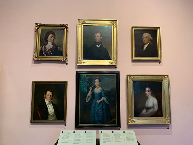 Second Bank philadelphia Portrait Gallery