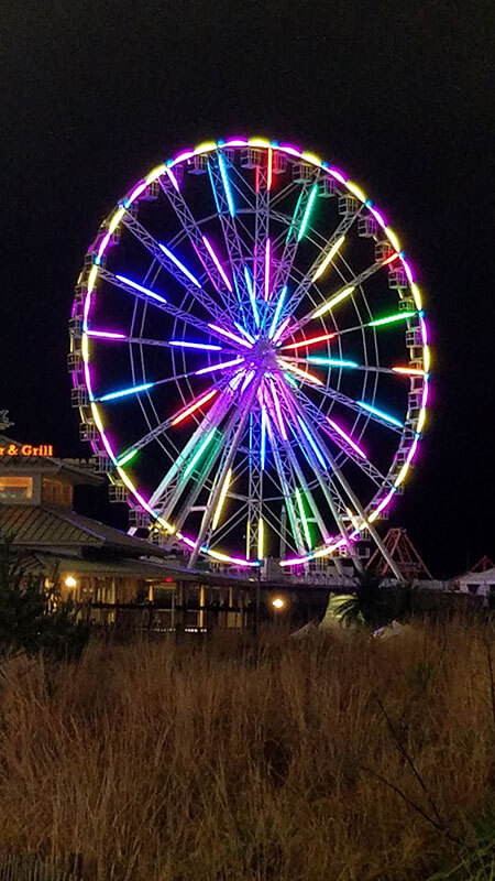 Ferris Wheel AC boardwalk