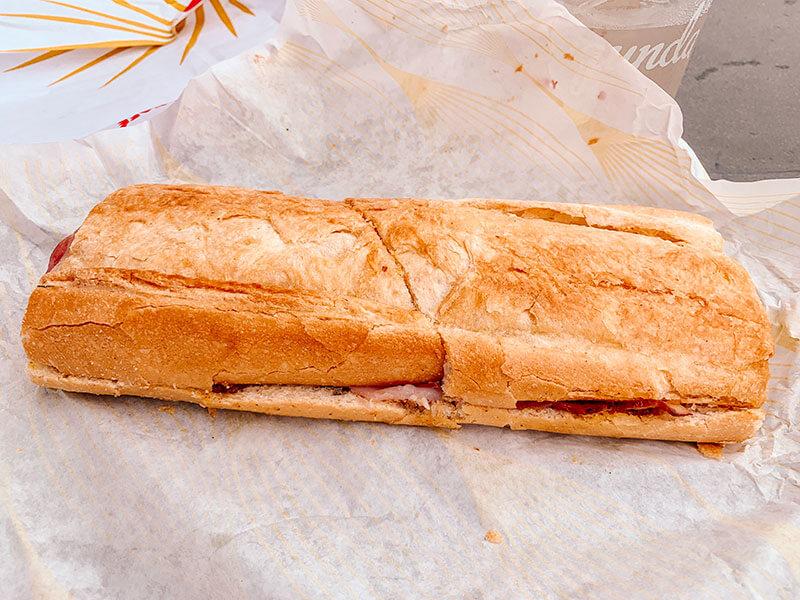 Cuban sandwich La Segunda