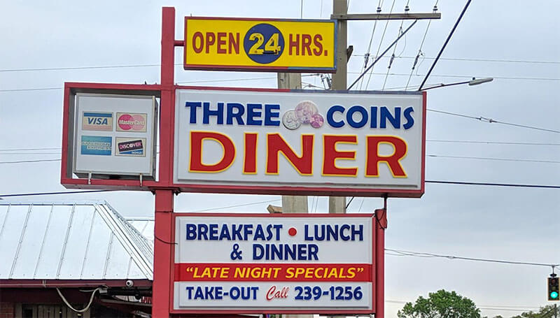 Three Coins Diner