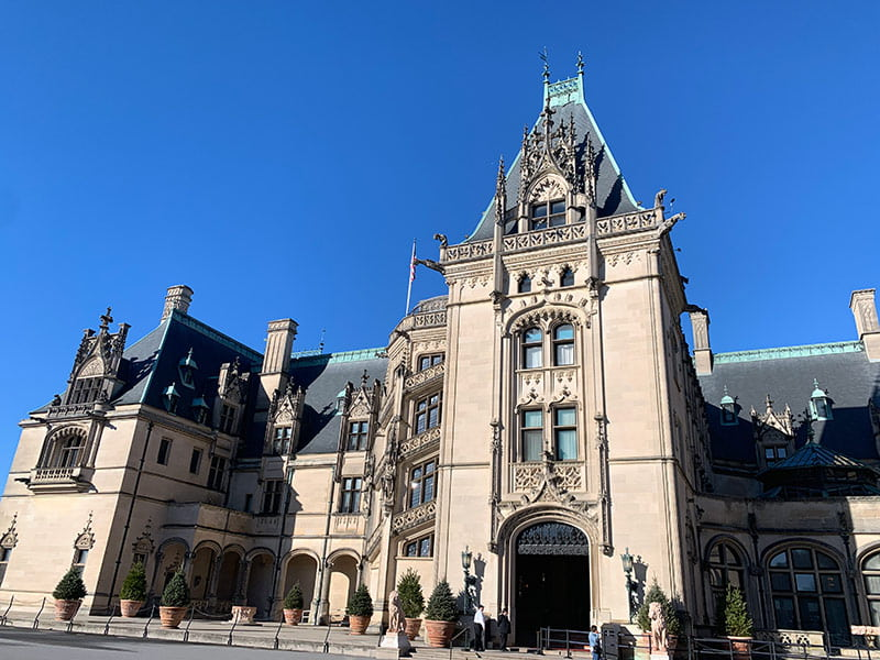 The Biltmore Mansion in Asheville, NC