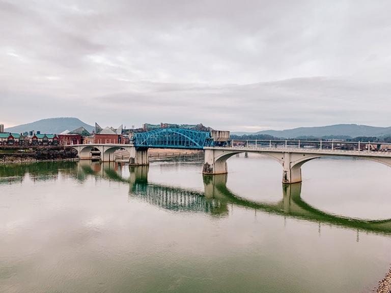 Chattanooga from the Walnut Street Bridge