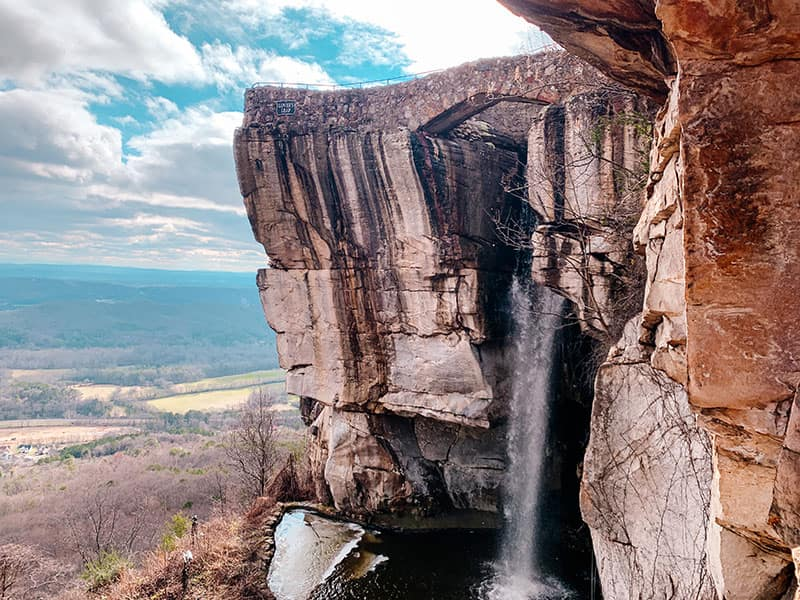 lover's leap - rock city gardens on lookout mountain
