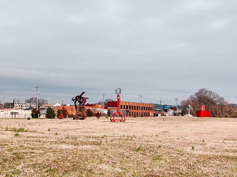 Sculpture Fields in Montague Park, Chattanooga, TN