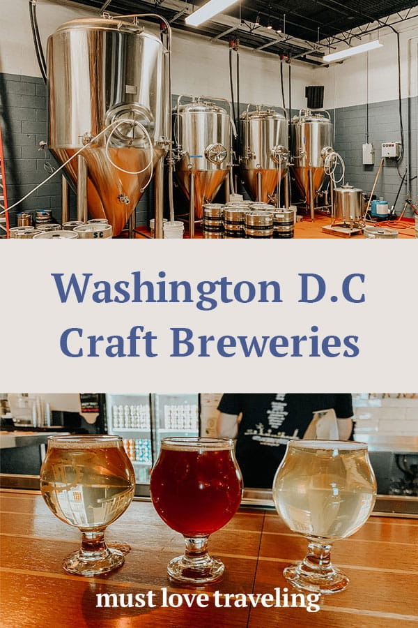 Washington D.C. Craft Breweries