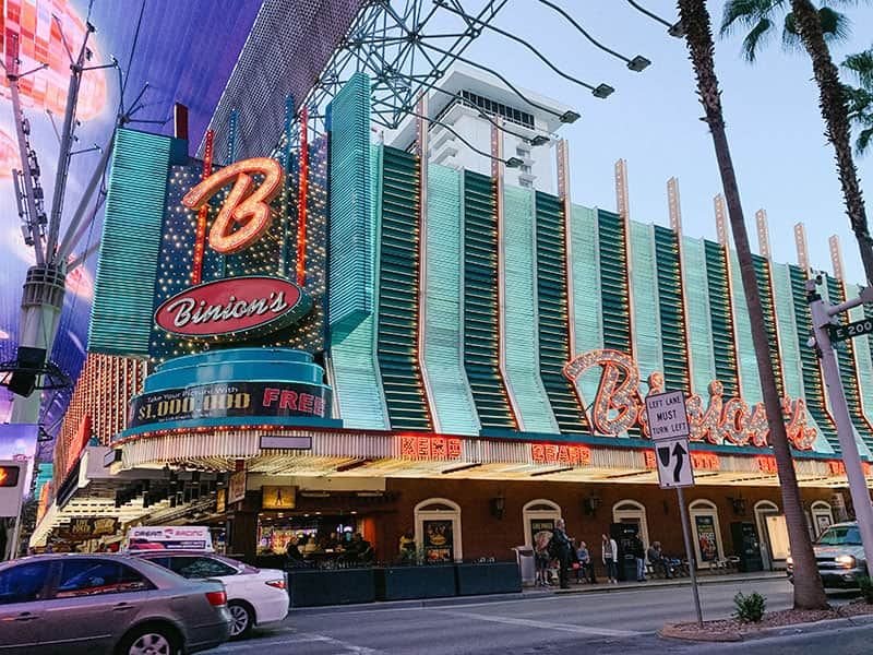 Binions Casino Freemont Street Las Vegas