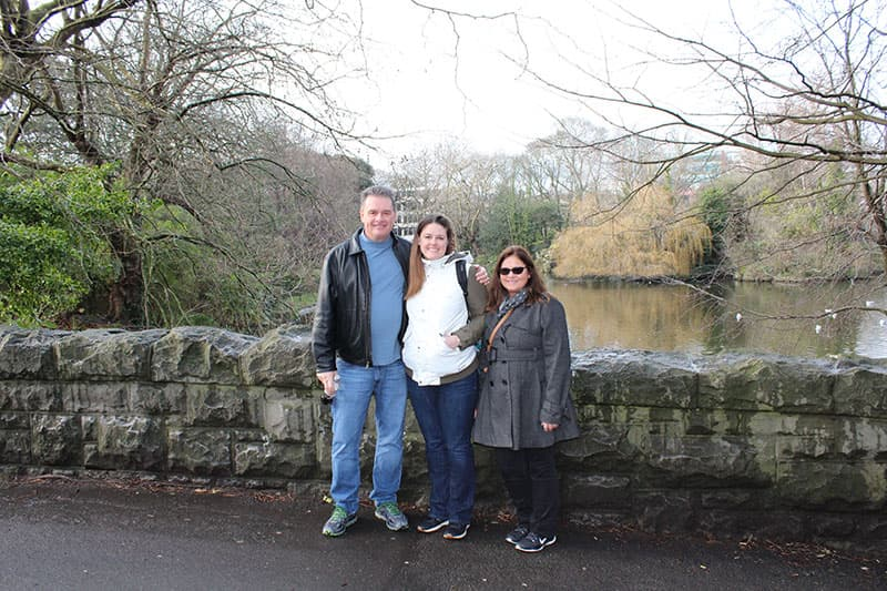 Ireland with Mom and Dad