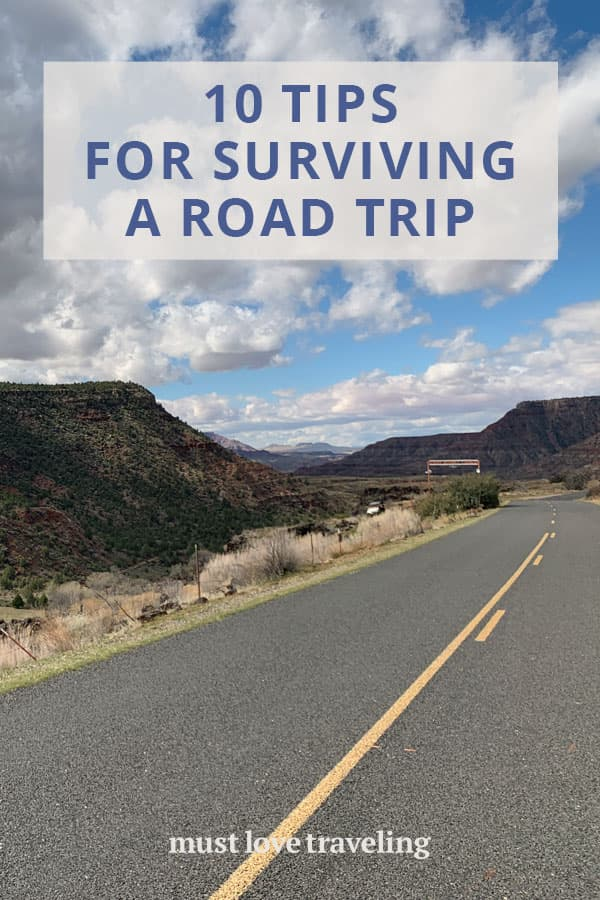 10 tips for surviving a road trip