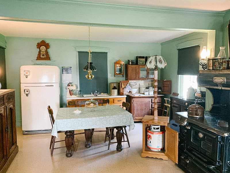 traditional Amish family kitchen from The Amish Village