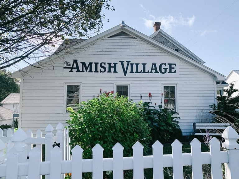 The Amish Village in Lancaster