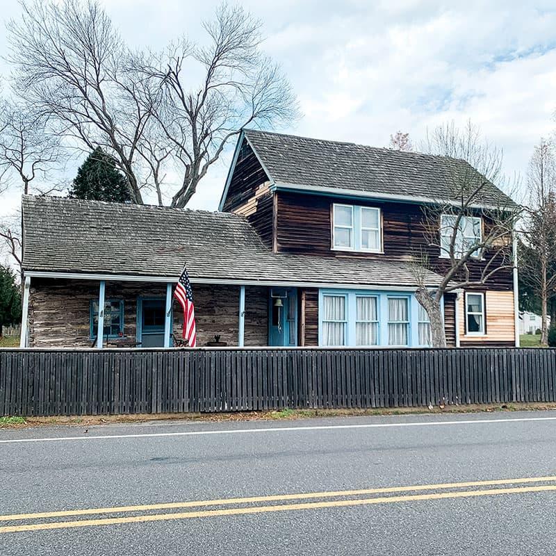 CA Nothnagle Log House