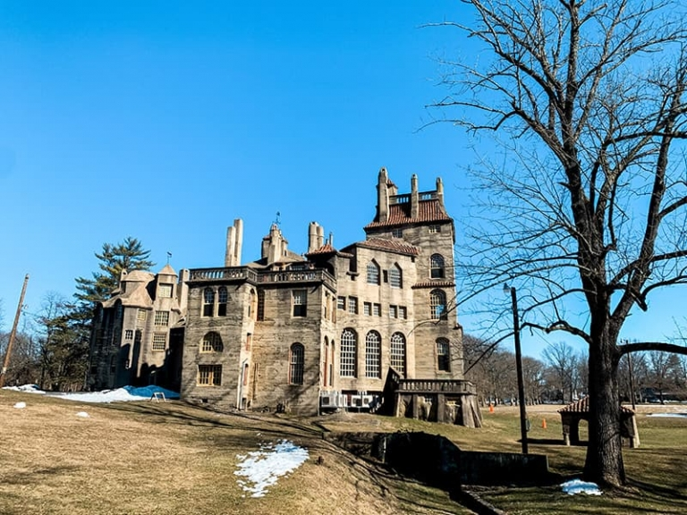 Fonthill Castle - the home of Henry Chapman Mercer