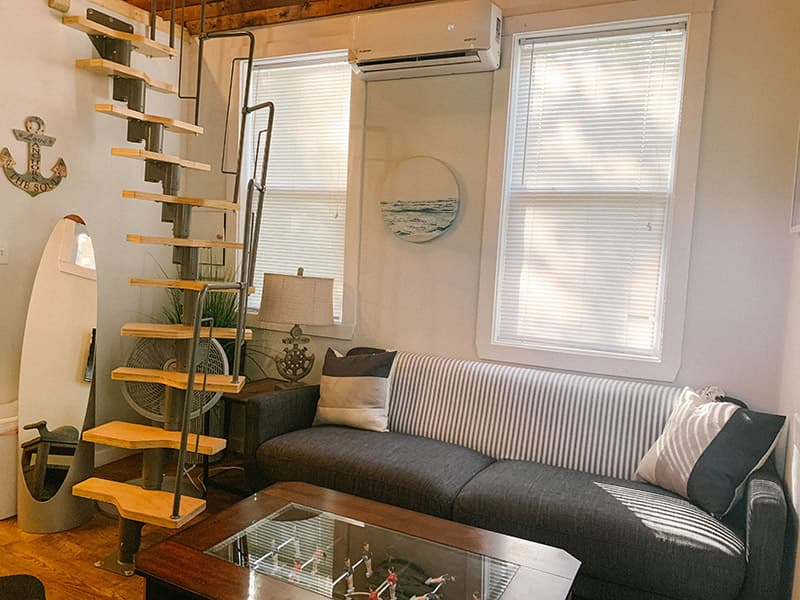 living room tiny house