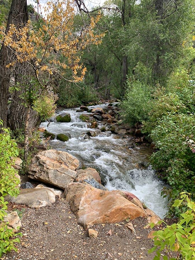 hiking trail Big Cottonwood Canyon
