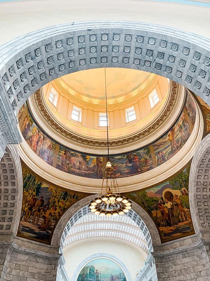 dome Utah Capitol building