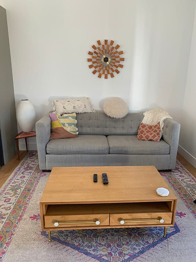 living room in Draper, UT Airbnb