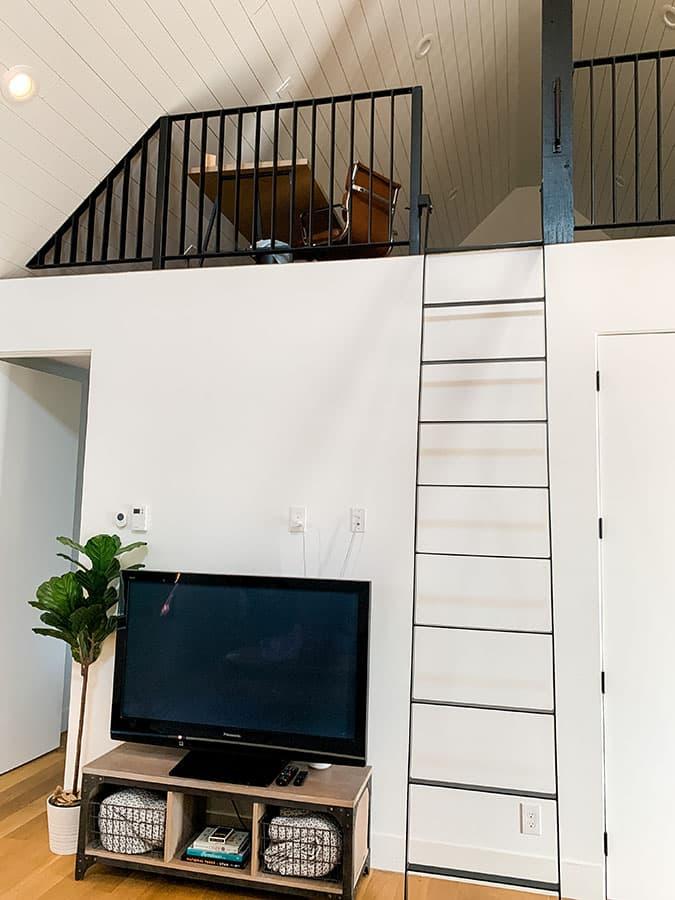 loft stairs Airbnb in Draper, UT