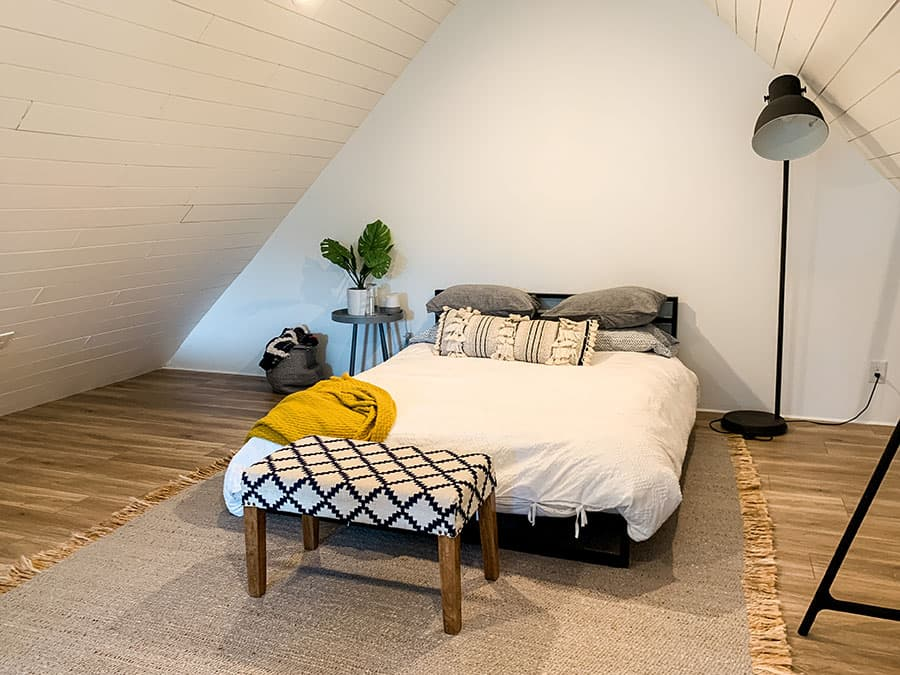 loft bedroom Airbnb