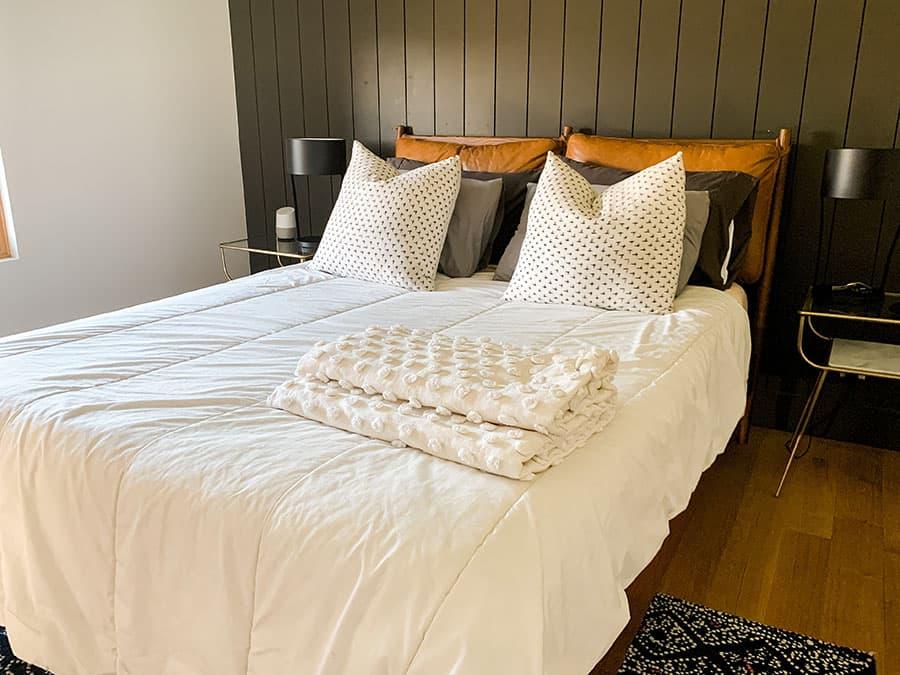 main bedroom in Draper, UT Airbnb