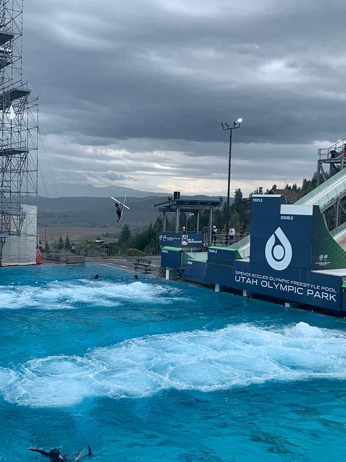 training Utah Olympic Park