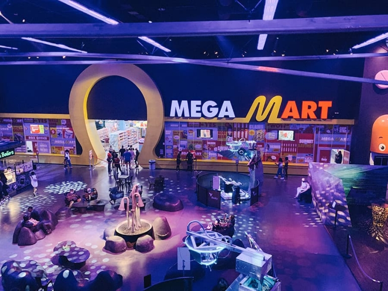 Omega Mart - Meow Wolf Las Vegas