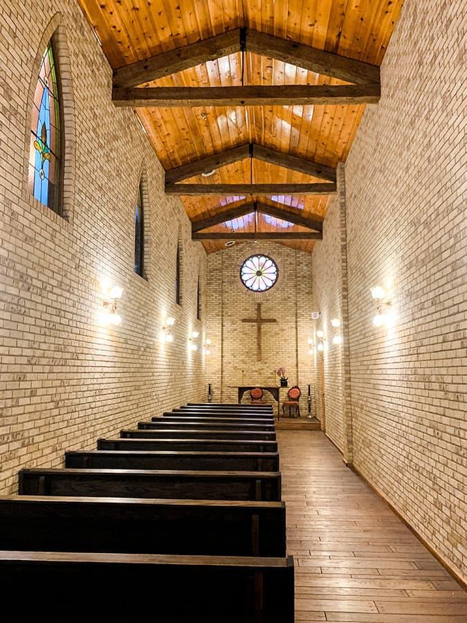 chapel inside Wall Drug