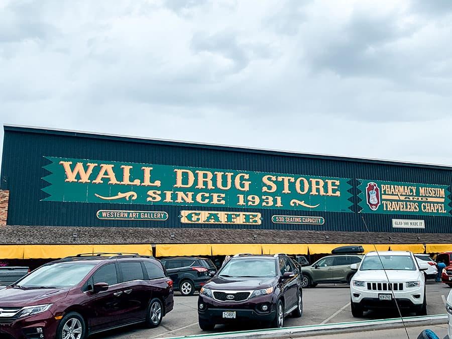 Wall Drug outside