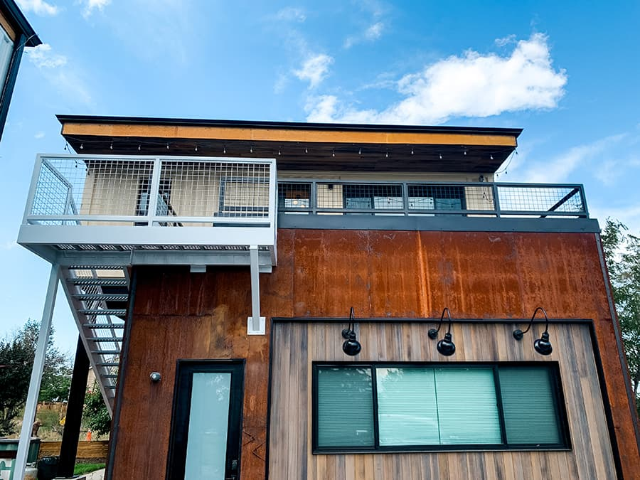Shipping container home Denver