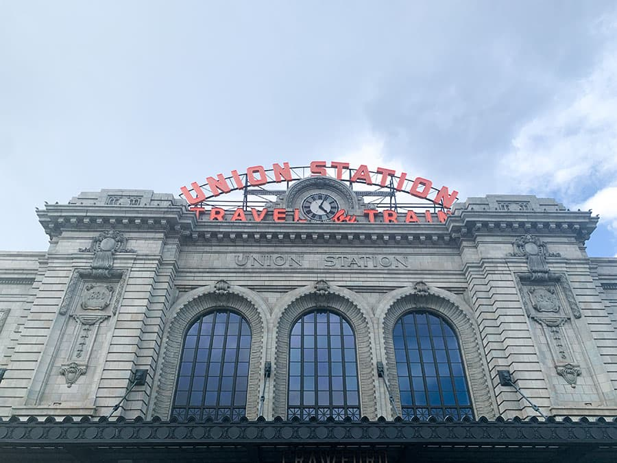 Union Station Denver outside